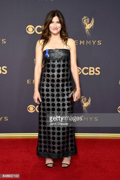 Actor Kathryn Hahn attends the 69th Annual Primetime Emmy Awards at Microsoft Theater on September 17 2017 in Los Angeles California