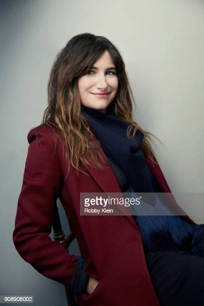Actor Kathryn Hahn from the film 'Private Life' poses for a portrait at the YouTube x Getty Images Portrait Studio at 2018 Sundance Film Festival on...