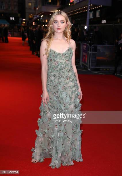 Actor Kathryn Newton attends the UK Premiere of 'Three Billboards Outside Ebbing Missouri' at the Closing Night Gala of the 61st BFI London Film...