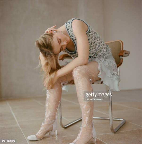 Actor Kathryn Newton is photographed for the Sunday Times on March 7 2018 in London England