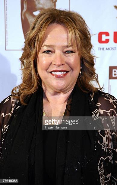 Actor Kathy Bates arrives at the 16th Annual British Academy of Film and Television/LA Cunard Britannia Awards on November 1 2007 at the Hyatt...