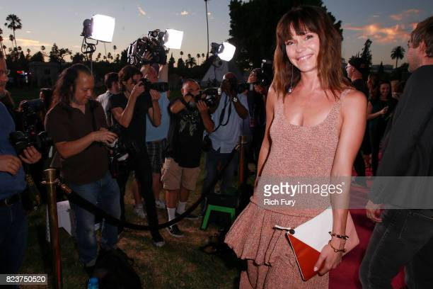 Actor Katie Aselton attends the premiere Of HBO's Room 104 at Hollywood Forever on July 27 2017 in Hollywood California