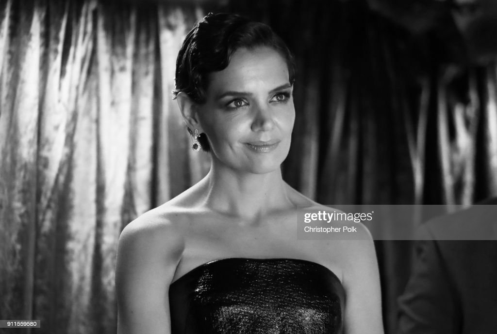 Actor Katie Holmes attends the 60th Annual GRAMMY Awards at Madison Square Garden on January 28, 2018 in New York City.