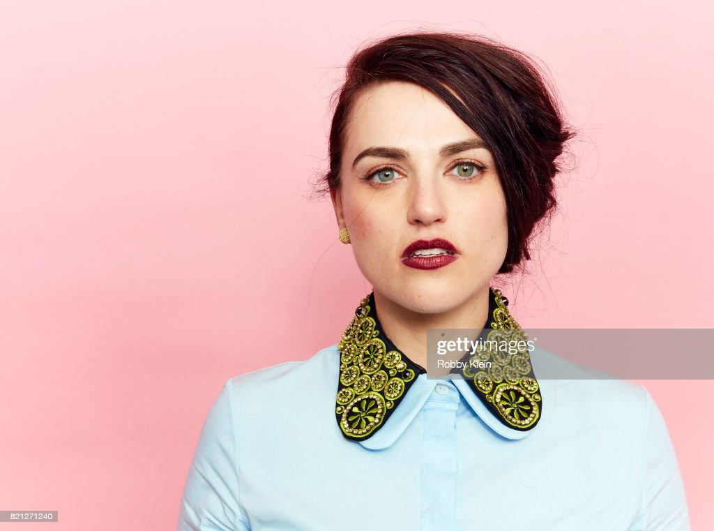 Actor Katie McGrath from CW's 'Supergirl' poses for a portrait during Comic-Con 2017 at Hard Rock Hotel San Diego on July 22, 2017 in San Diego, California.