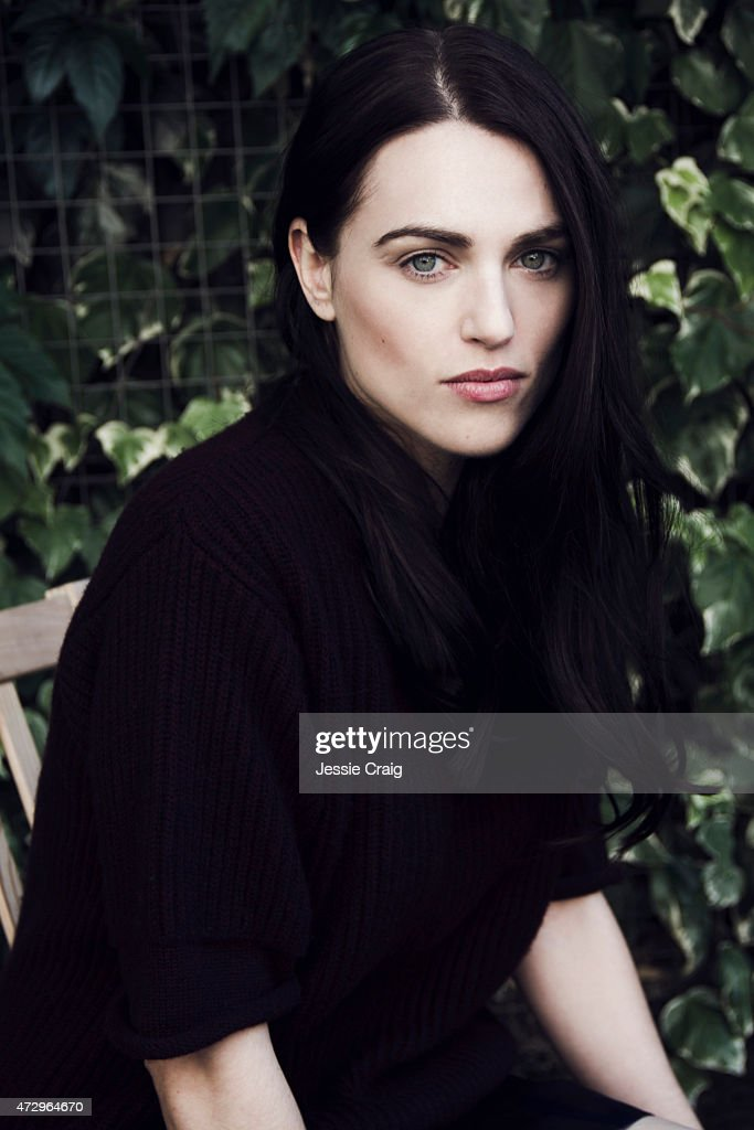 Actor Katie McGrath is photographed for Wonderland on August 9, 2013 in London, England.