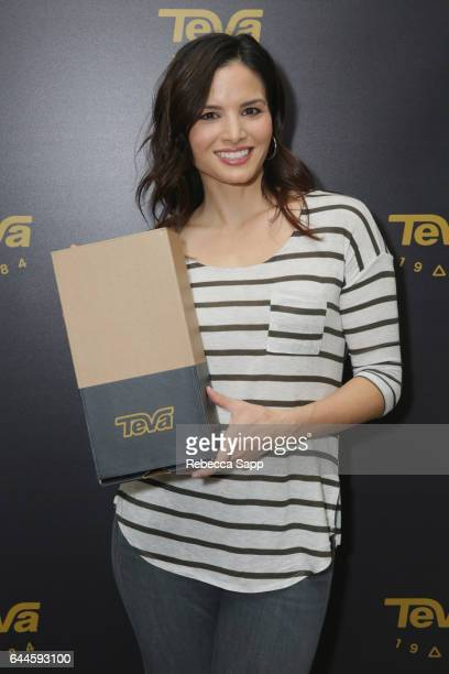 Actor Katrina Law attends Kari Feinstein's PreOscar Style Lounge at the Andaz Hotel on February 23 2017 in Los Angeles California
