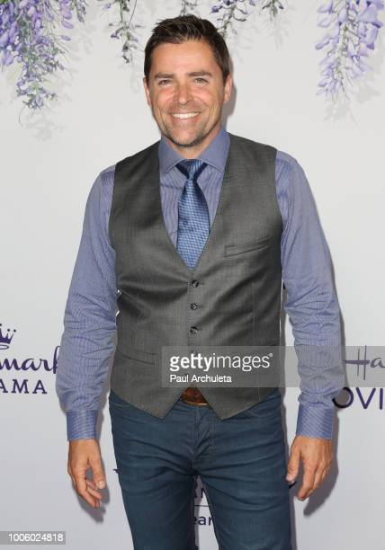 Actor Kavan Smith attends the 2018 Hallmark Channel Summer TCA at Private Residence on July 26 2018 in Beverly Hills California