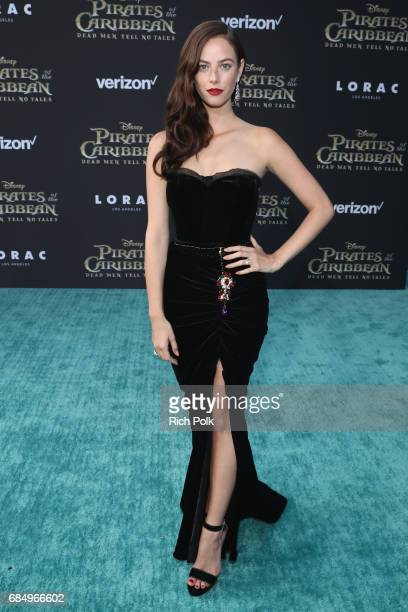 "Actor Kaya Scodelario at the Premiere of Disney's and Jerry Bruckheimer Films' ""Pirates of the Caribbean Dead Men Tell No Tales"" at the Dolby Theatre..."