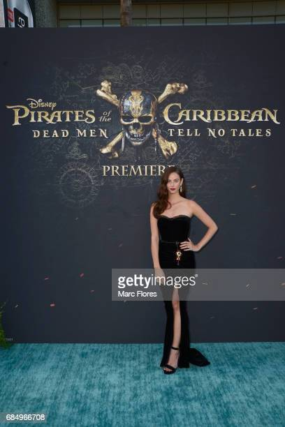 """Actor Kaya Scodelario at the Premiere of Disney's and Jerry Bruckheimer Films' """"Pirates of the Caribbean Dead Men Tell No Tales"""" at the Dolby Theatre..."""