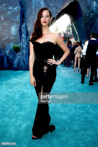 Actor Kaya Scodelario attends the premiere of Disney's Pirates Of The Caribbean Dead Men Tell No Tales at Dolby Theatre on May 18 2017 in Hollywood...