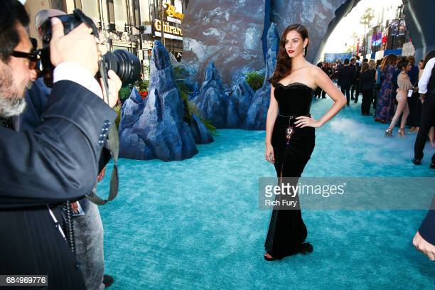 Actor Kaya Scodelario attends the premiere of Disney's 'Pirates Of The Caribbean Dead Men Tell No Tales' at Dolby Theatre on May 18 2017 in Hollywood...