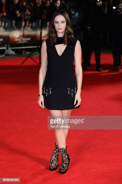 Actor Kaya Scodelario attends the UK fan screening of 'Maze Runner The Death Cure' at the Vue West End on January 22 2018 in London England