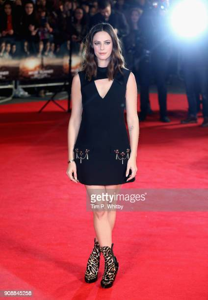 Actor Kaya Scodelario attends the UK fan screening of Maze Runner The Death Cure at the Vue West End on January 22 2018 in London England