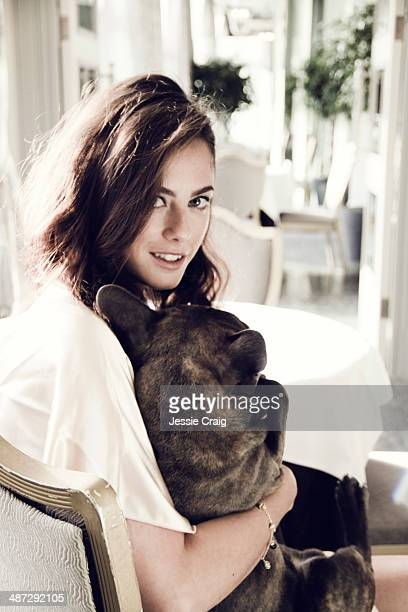 Actor Kaya Scodelario is photographed for Wonderland magazine in London England