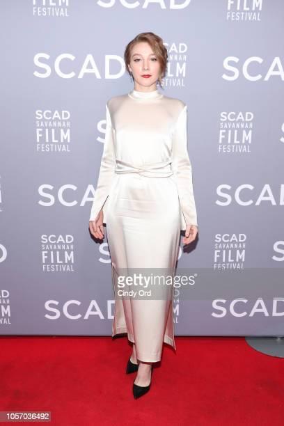 Actor Kayli Carter attends the 21st SCAD Savannah Film Festival on November 3 2018 in Savannah Georgia