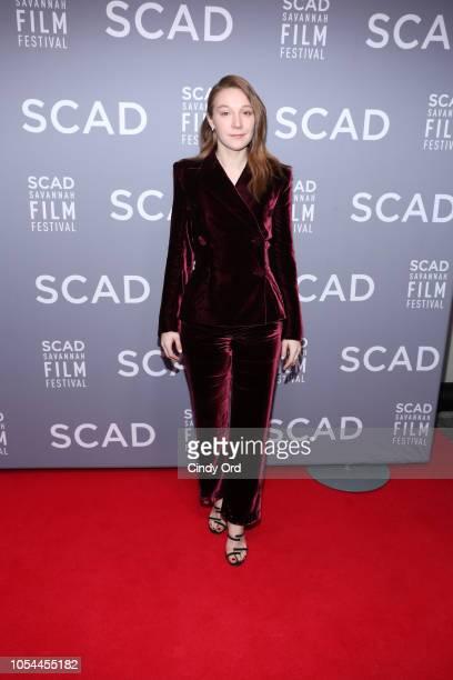 Actor Kayli Carter attends the 21st SCAD Savannah Film Festival opening night on October 27 2018 in Savannah Georgia