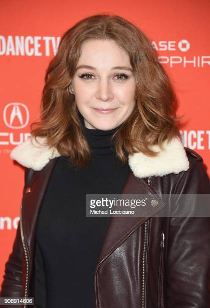 Actor Kayli Carter attends the Private Life Premiere during the 2018 Sundance Film Festival at Eccles Center Theatre on January 18 2018 in Park City...