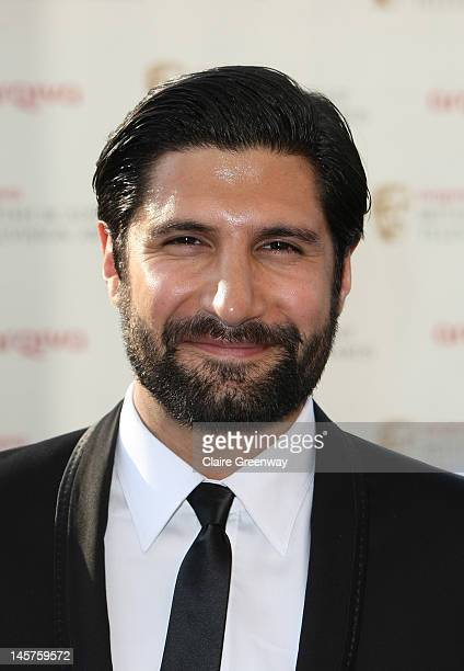 Actor Kayvan Novak attends The Arqiva British Academy Television Awards 2012 at The Royal Festival Hall on May 27 2012 in London England