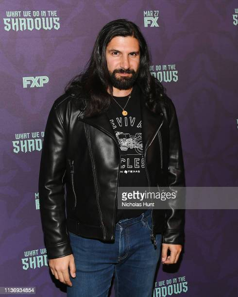 """Actor Kayvan Novak attends the """"What We Do In The Shadows"""" New York Premiere at Metrograph on March 19, 2019 in New York City."""