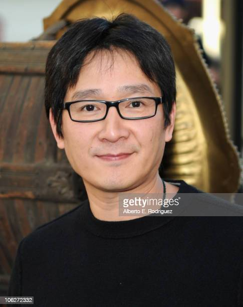 Actor Ke Huy Quan attends the Warner Bros 25th Anniversary celebration of The Goonies on October 27 2010 in Burbank California
