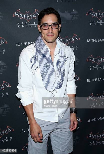 Actor Keahu Kahuanui attends Warner Bros Interactive Entertainment's 'Cape/Cowl/Create' event in downtown San Diego a celebration of the iconic...