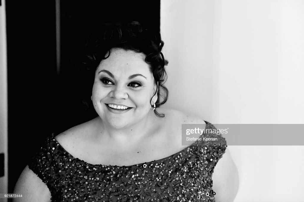 Actor Keala Settle attends the Costume Designers Guild Awards at The Beverly Hilton Hotel on February 20, 2018 in Beverly Hills, California.