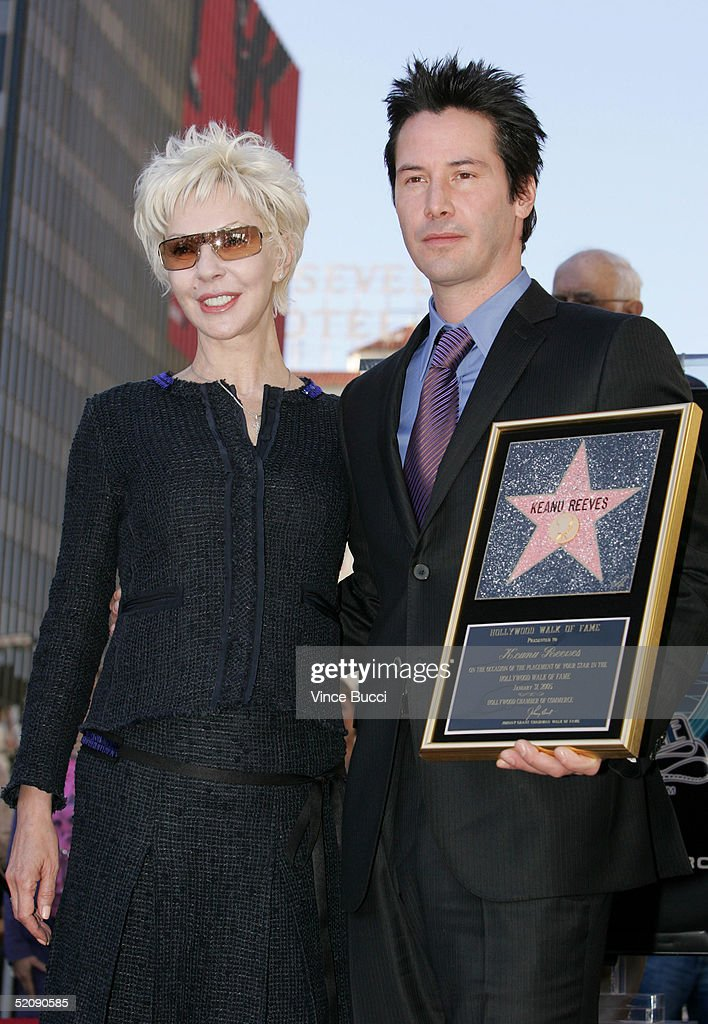 Keanu Reeves Gets A Star On The Hollywood Walk Of Fame : News Photo