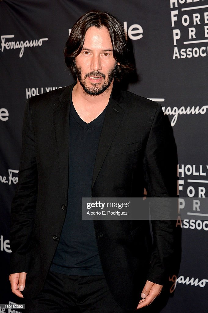 Actor Keanu Reeves arrives at the TIFF HFPA - InStyle Party during the 2013 Toronto International Film Festival at Windsor Arms Hotel on September 9, 2013 in Toronto, Canada.