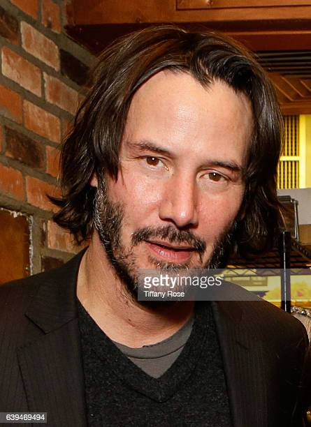 Actor Keanu Reeves attends ChefDance sponsored by Sysco and GiftedTaste on January 21 2017 in Park City Utah