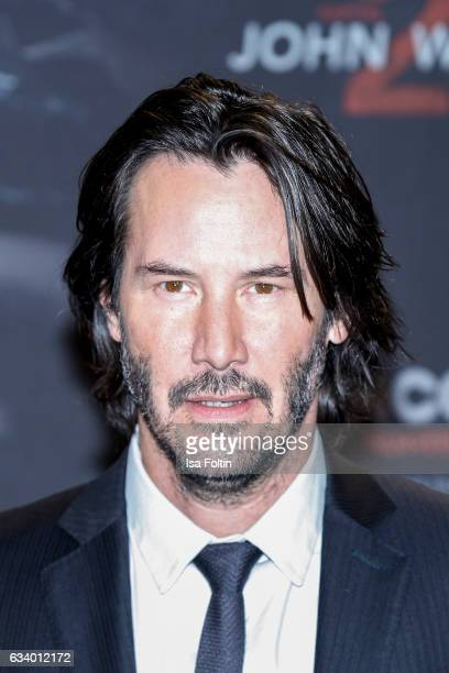 US actor Keanu Reeves attends the 'John Wick Kapitel 2' Photocall at Hotel De Rome on February 6 2017 in Berlin Germany