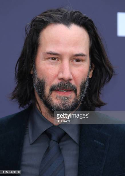 Actor Keanu Reeves attends the MOCA Benefit 2019 at The Geffen Contemporary at MOCA on May 18 2019 in Los Angeles California