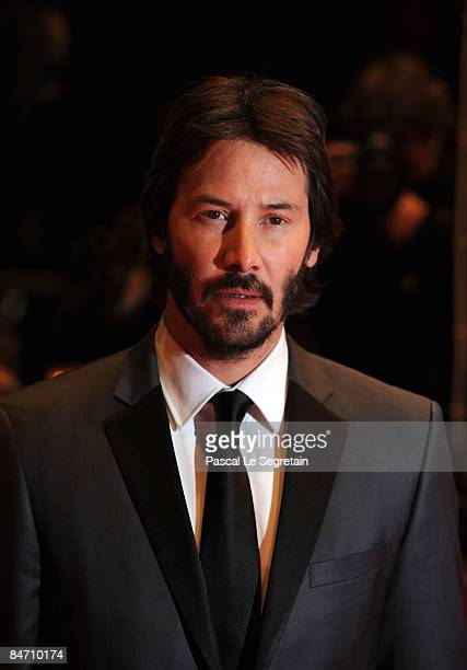 Actor Keanu Reeves attends the premiere for 'The Private Lives of Pippa Lee' as part of the 59th Berlin Film Festival at the Berlinal Palast on...