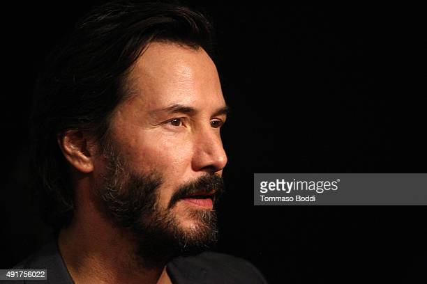 Actor Keanu Reeves attends the premiere of Lionsgate Premiere's Knock Knock held at the TCL Chinese Theatre on October 7 2015 in Hollywood California