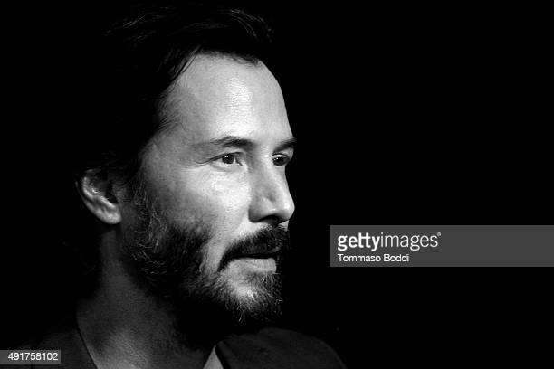 Actor Keanu Reeves attends the premiere of Lionsgate Premiere's 'Knock Knock' held at the TCL Chinese Theatre on October 7 2015 in Hollywood...