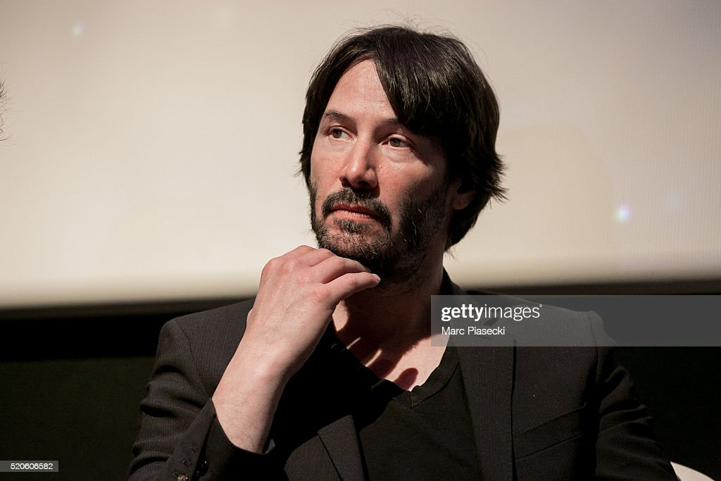 """""""Side by Side"""" Paris Screening with Keanu Reeves At Hotel Royal Monceau : News Photo"""