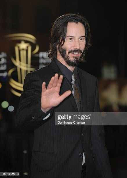 Actor Keanu Reeves attends the Tribute to the French Cinema during the 10 th Marrakech Film Festival on December 4, 2010 in Marrakech, Morocco.