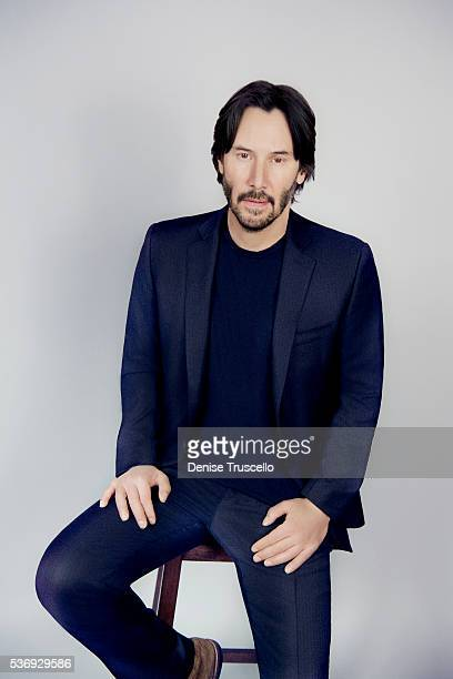 Actor Keanu Reeves is photographed at CinemaCon 2015 on April 12 2016 in Las Vegas Nevada