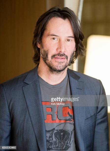 Actor Keanu Reeves is photographed for Los Angeles Times on January 27 2017 in Los Angeles California PUBLISHED IMAGE CREDIT MUST READ Kirk McKoy/Los...