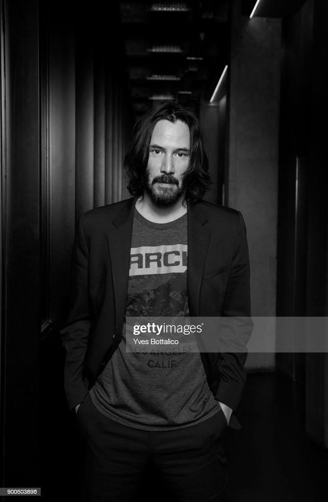 Keanu Reeves, Homme Deluxe, November 2017