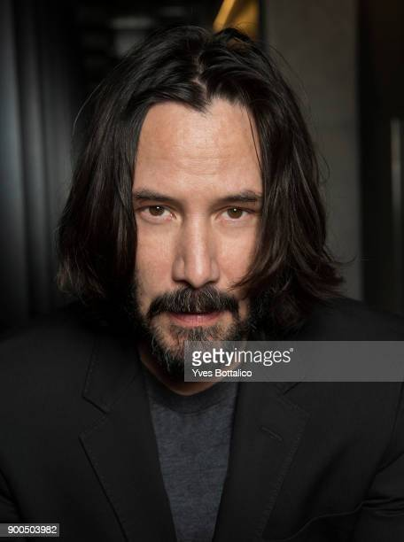 Actor Keanu Reeves is photographed forHomme Deluxe on November 1 2017 in Paris France