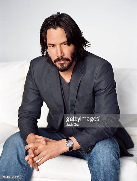 Actor Keanu Reeves is photographed in 2006 in Los Angeles California