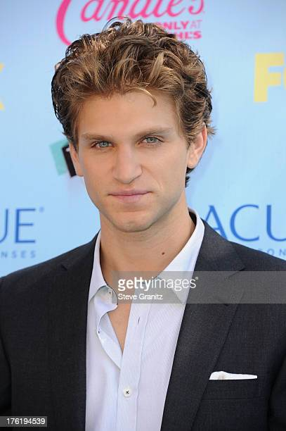 Actor Keegan Allen attends the 2013 Teen Choice Awards at Gibson Amphitheatre on August 11 2013 in Universal City California