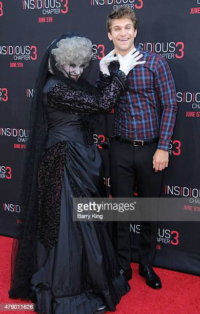 Actor Keegan Allen attends the premiere of Focus Features' 'Insidious Chapter 3' at the TCL Chinese Theatre on June 4 2015 in Hollywood California