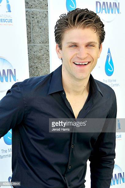 Actor Keegan Allen attends the World Animal Day Celebration at International Bird Rescue on October 2 2014 in Fairfield California