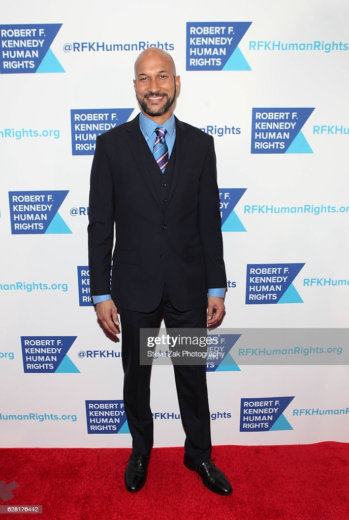 Actor Keegan-Michael Key attends 2016 Robert F. Kennedy Human Rights' Ripple of Hope Awards at New York Hilton Midtown on December 6, 2016 in New York City.
