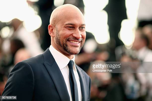Actor KeeganMichael Key attends The 22nd Annual Screen Actors Guild Awards at The Shrine Auditorium on January 30 2016 in Los Angeles California...