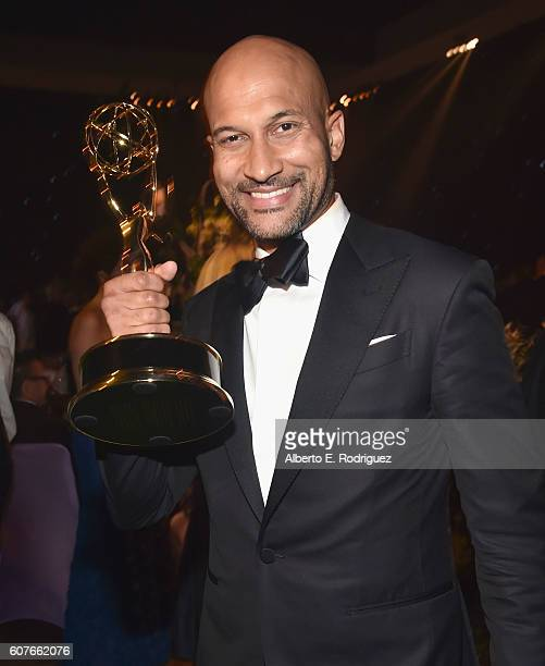 Actor Keegan-Michael Key attends the 68th Annual Primetime Emmy Awards Governors Ball at Microsoft Theater on September 18, 2016 in Los Angeles,...