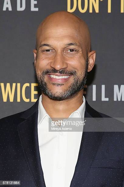 Actor KeeganMichael Key attends the New York film premiere for Don't Think Twice at Landmark Sunshine Cinema on July 20 2016 in New York City
