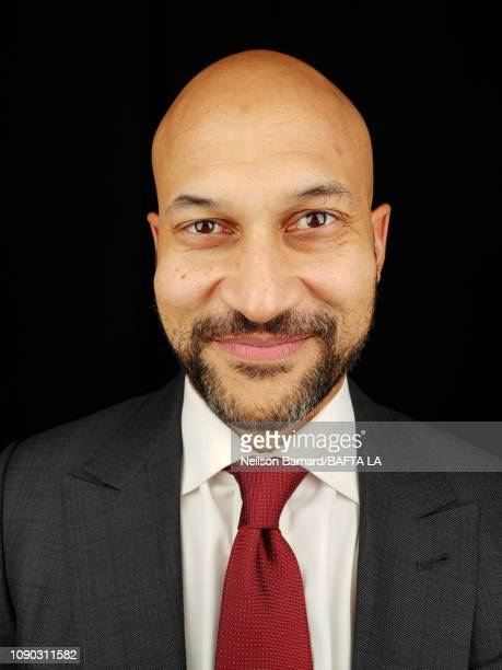Actor KeeganMichael Key attends the portrait studio at Four Seasons Hotel Los Angeles at Beverly Hills on January 05 2019 in Los Angeles California