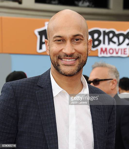 Actor KeeganMichael Key attends the premiere of Angry Birds at Regency Village Theatre on May 7 2016 in Westwood California